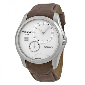 Relógio Tissot Masculino Couturier Branco/marrom Automático