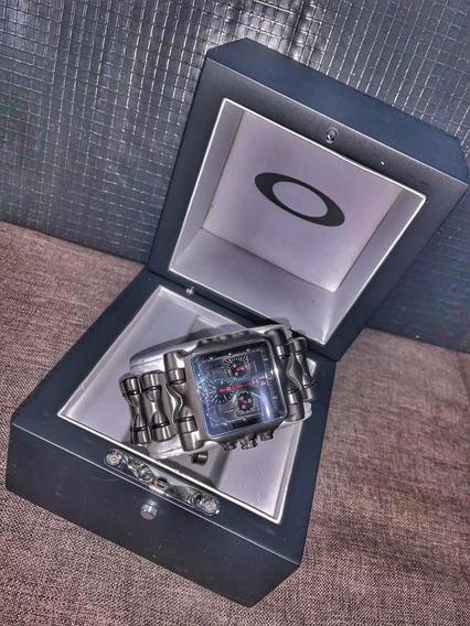 Relógio Oakley Tank Minute Machine Titanium