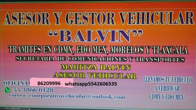 Gestoria Vehicular M. Balvin