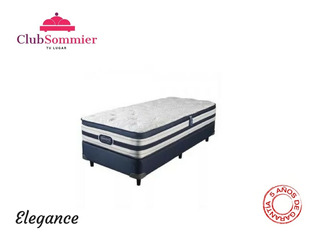 Sommier Simmons Beautyrest Smart Elegance Resortes 190x100