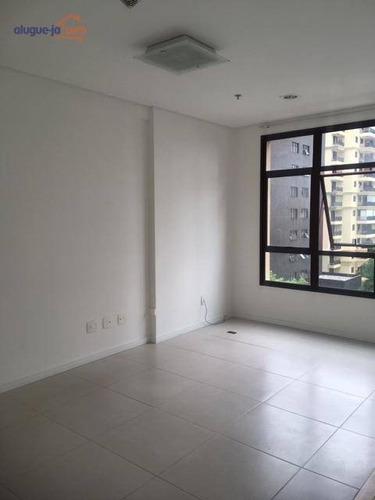 Sala Para Alugar, 37 M² Por R$ 1.200,00/mês - Jardim Aquarius - São José Dos Campos/sp - Sa0381