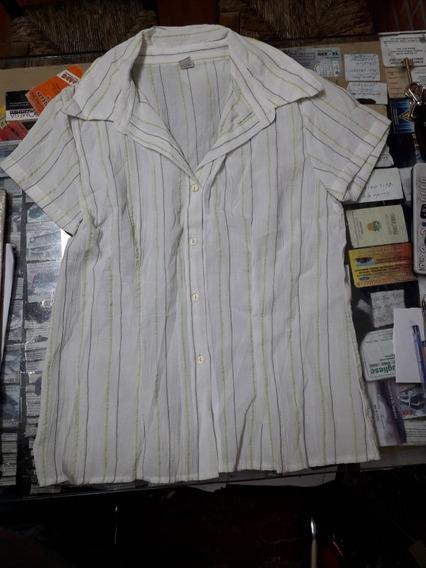Camisa Dama Bambula Talle 2 B Bell
