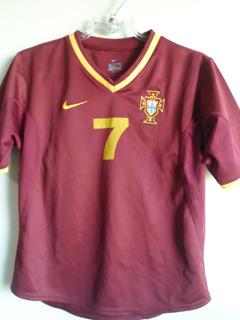 Camisa Portugal Nike Infantil