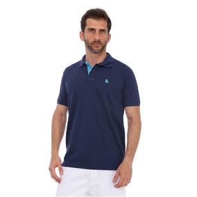 Camisa Polo England Polo Club Casual Marinho