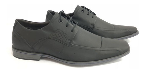 Sapato Ferracini Cadarço Em Couro Social Casual 5232-273