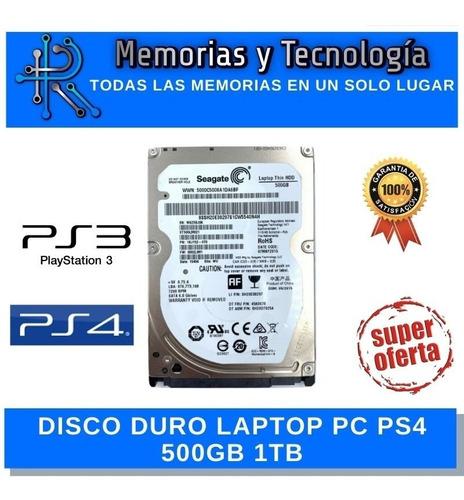 Disco Duro Laptop O Pc Hdd 500gb Segate 1tb Nuevos