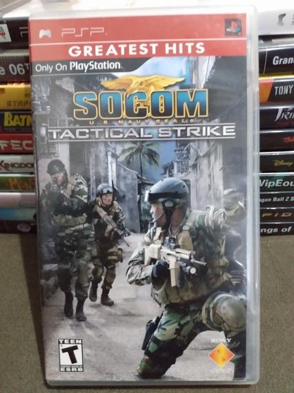 Socom Tactical Strike Original Psp   Parcelamento Sem Juros