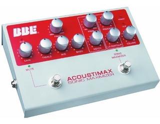 Bbe Acoustimax Instrumento Acustico Preamp Pedal Con Maximiz