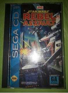 Star Wars Rebel Assault Para Sega Cd, Inmaculado!!!