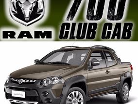 Pickup Ram 700 Club Cab Airbag Abs 4cil Susp Muelles Ac Rhc
