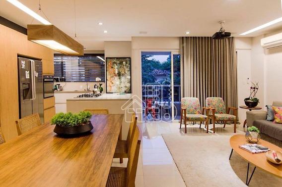 Apartamento Com 3 Dormitórios À Venda, 160 M² Por R$ 1.025.000,00 - São Francisco - Niterói/rj - Ap2404