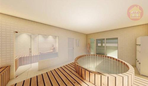 Apartamento À Venda, 58 M² Por R$ 315.000,00 - Caiçara - Praia Grande/sp - Ap5120