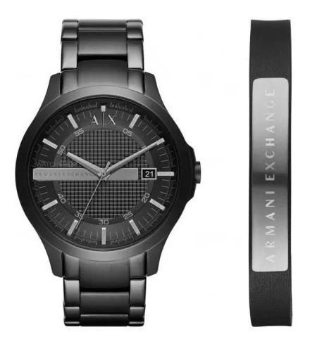 Relógio Armani Exchange Analógico Ax7101 + Puseira Original