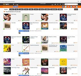 Vendo Site De Musicas Completo Com 5k Visitas Orgânicas Dia!