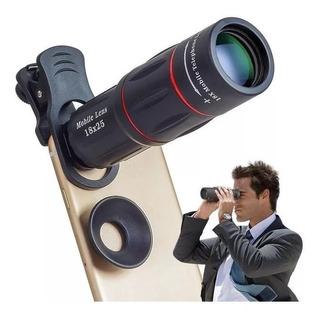 Luneta Telescópio/celular/lente Zoom Hd 18x Melhor Preço
