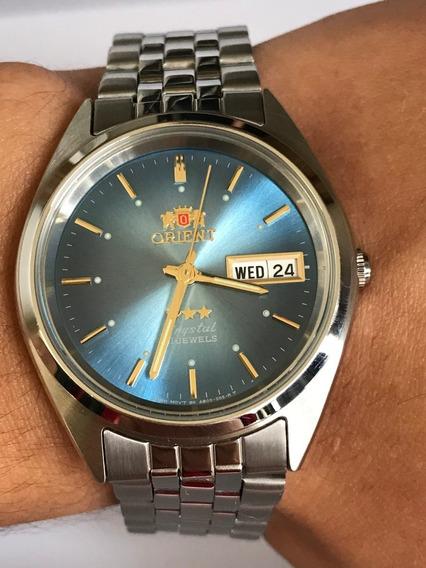 Relógio Orient Automático Prova Dágua Tradicional