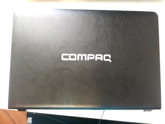 Tampa Carcaça Superior + Moldura + Webcam Wifi Compaq Cq-18