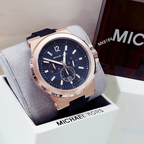Relógio Michael Kors Mk8184 Dourado Rose Unisex - Dylan