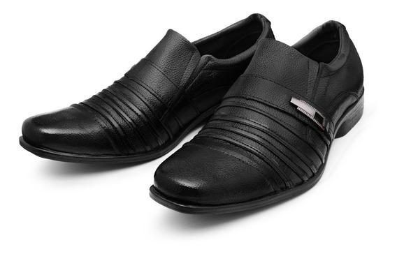 Sapato Masculino Casual Social Sapatenis Couro Legitimo Luxo