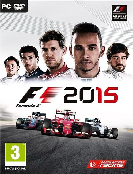 F1 2015 Pc - Steam Key (envio Já)