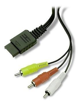 Cable Av De Audio Y Video Para Playstation Ps1 Ps2