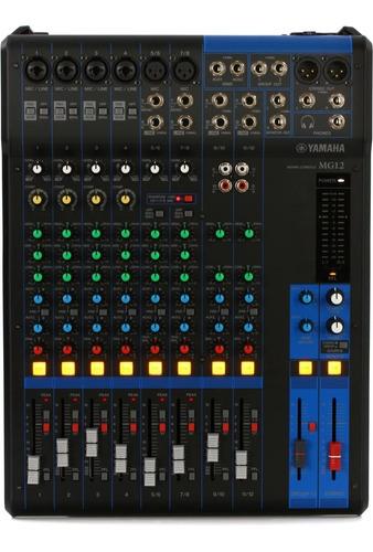 Consola Mixer Yamaha Mg12 12 Canales