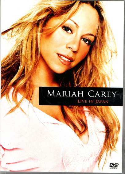 Dvd Mariah Carey - Live In Japan