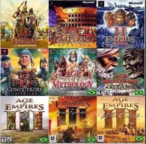 Age Of Empires 1-2-3 + Warcraft 3 +age Mythology Frete Grati