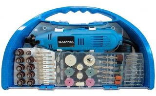 Mini Torno Gamma G19501ac (tornito De Mano Tipo Dremel)