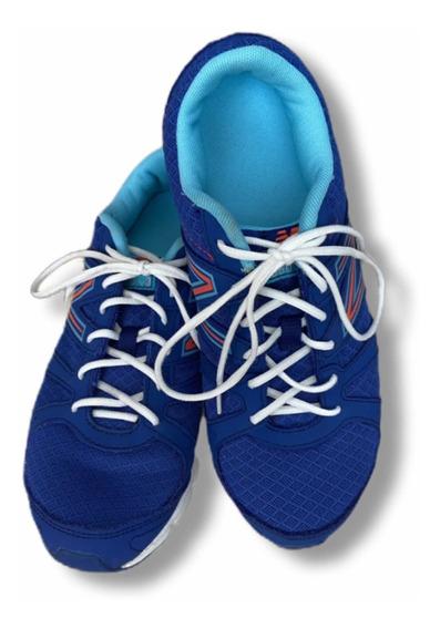 Zapatos Deportivos/gomas Azules New Balance Talla 8