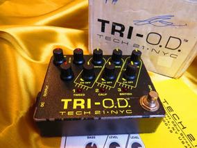 Tech 21 Sansamp Tri Od Distortion Metal Fender Marshall Gt2