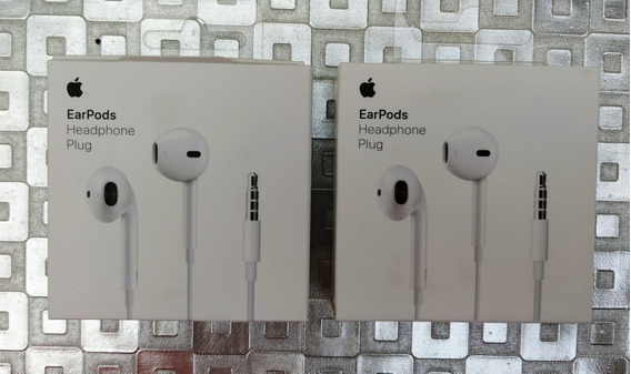 Audífonos Apple Earpods Originales Cable 3.5mm, Nuevos