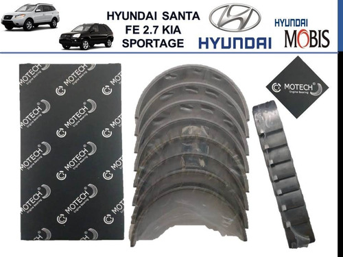 Concha Bancada Kia Sportage Hyundai Santa Fe 2.7 0.10