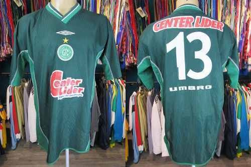 Guaraní 2001 Camisa Titular Tamanho Gg Número 3.
