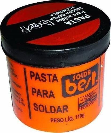 Pasta Para Soldar Bestfer Pote 110g Plastico Solda
