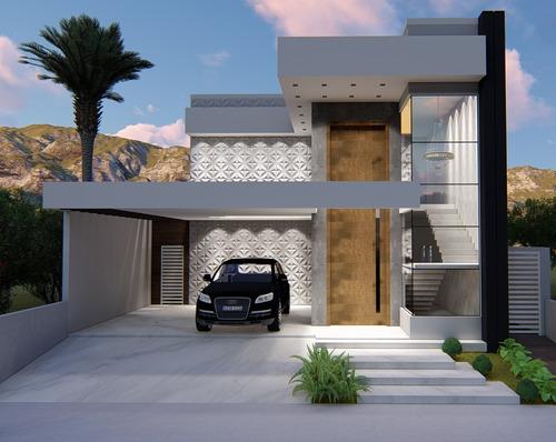 Imagem 1 de 10 de Planta De Casa 3 Quartos - Projeto Completo+aprovação Ea-102