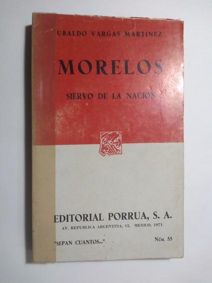 Morelos . Ubaldo Vargas Martínez