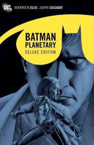 Batman Planetary Deluxe - Hq Capa Dura Lacrado