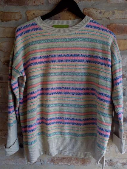 Poncho Sweater Rapsodia New York Star - Talle M,