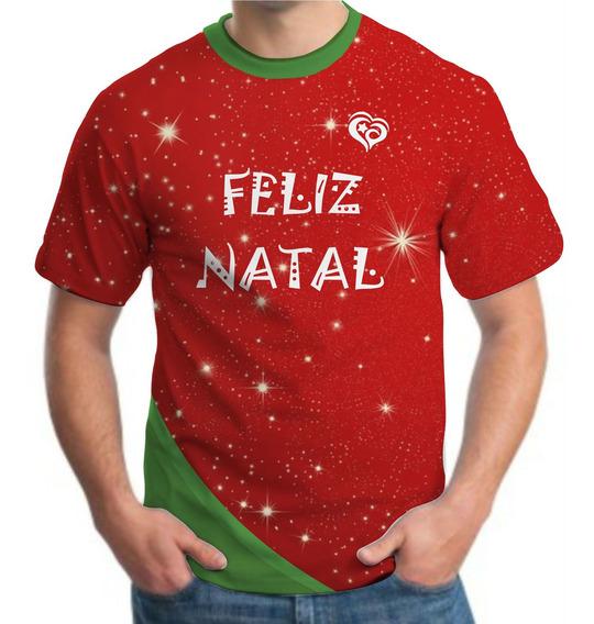 Camiseta De Natal Masculina Roupas Blusa Camisa
