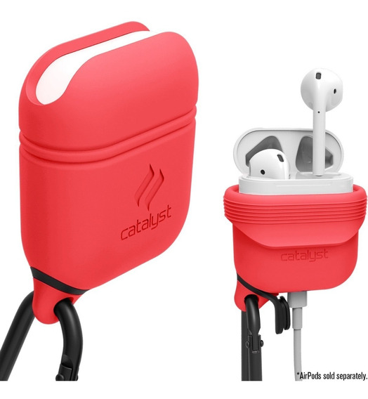 Funda Silicona Catalyst Apple AirPods Waterproof Coral