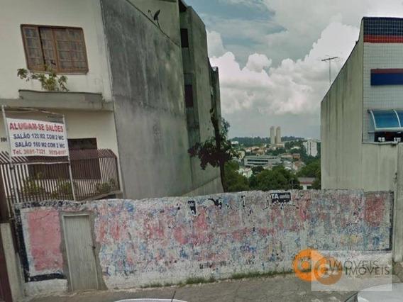 Terreno Para Alugar, 270 M² Por R$ 3.900/mês - Bela Vista - Osasco/sp - Te0002