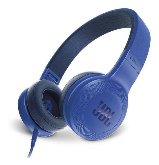 Fone De Ouvido Jbl E35 Synchros Azul Original Nota Fiscal