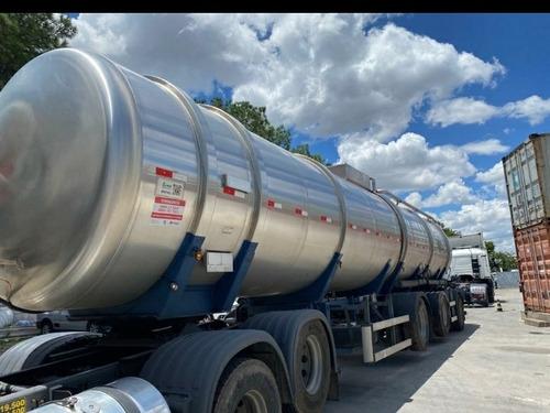 Vanderleia Aço Inox Tanque 44.000 Lts Com Pneus Unico Dono