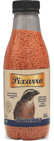 Alimento Extrusado Premium Para Pixarro - 350 G