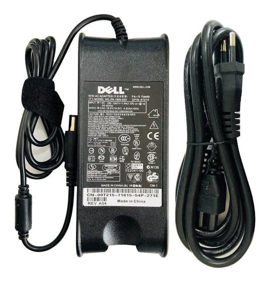 Fonte Carregador Dell P/notebook 19.5v 4.62a 90w Promoção