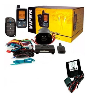 Alarma Viper 3306v + Display + Led Viper + Sirena + Sensor