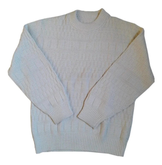 Buzo Sweater Pullover Tejido Lana Suave