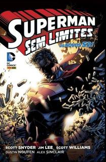Hq Superman Sem Limites - Novo E Lacrado