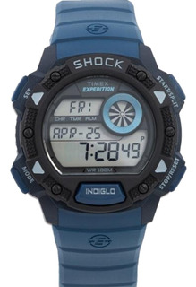 Reloj Hombre Deportivo Cronometro Timex Tw4b07400 | Envio